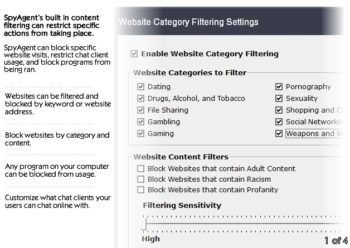 filtering and blocking