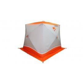Картинка Палатка для зимней рыбалки куб Пингвин Призма Brand 2-х слойная
