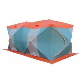 Картинка Палатка для зимней рыбалки Нельма Куб-4 Люкс Профи двухслойная