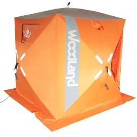 Картинка Палатка для зимней рыбалки куб WOODLAND Ice Fish 4
