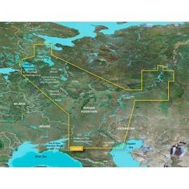 Картинка Карта Garmin Bluechart G3 Внутренние воды России