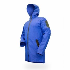 Картинка Куртка-дождевик GERMOSTAR RAIN, синяя, карманы