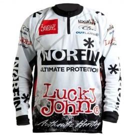 Картинка Футболка Norfin & Lucky John белая