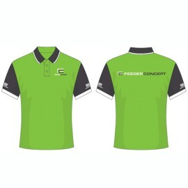 Картинка Рубашка поло Feeder Concept зеленая
