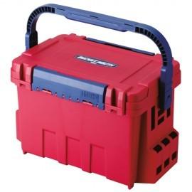 Картинка Ящик рыболовный Meiho BUCKET MOUTH BM-9000 Red 540*340*350