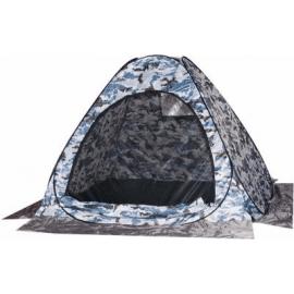 Картинка Палатка рыбака Скаут автомат 1,5х1,5 белый КМФ (без дна)