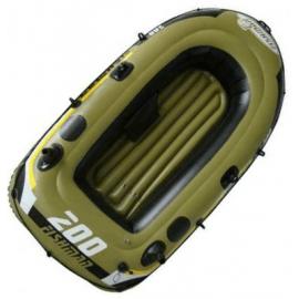 Картинка Лодка надувная Relax Fishman 200 SET весла+насос 07207-1