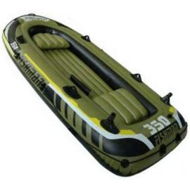Картинка Лодка надувная Fishman 350 SET (весла+насос) JL007209-1N