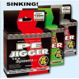 Картинка Леска плетеная Siweida PE Jigger 0,18 100м (9кг, зеленая)
