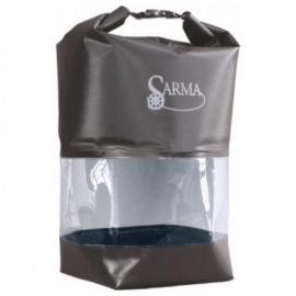 Картинка Баул водонепроницаемый SARMA с прозрачной вставкой 20л С007-2