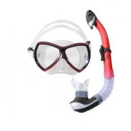 Картинка Набор маска, трубка WAVE MS-1380S57 силикон