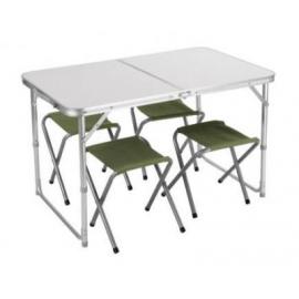 Картинка Набор мебели TREK PLANET Event set 95 (стол+4 стула) 70667