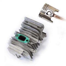Картинка Цилиндр и поршень двигателя бензинового Vista 2-х тактного Solo