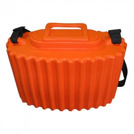 Картинка Кан рыболовный Salmo ЭВА оранжевый 7.5л