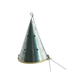 Картинка Кормушка зимняя Конус малая метал