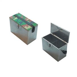Картинка Ящик рыболовный оцинкованая сталь 30*19*29см