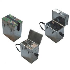 Картинка Ящик рыболовный нержавеющая сталь 2-х ярусный 40*19*36см