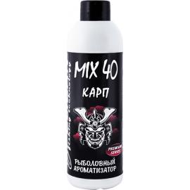 Картинка Ароматизатор PELICAN MIX 40 КАРП 200 мл. Клубника с чесноком