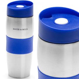 Картинка Термокружка Mayer&Boch 380мл нерж синяя 24ч