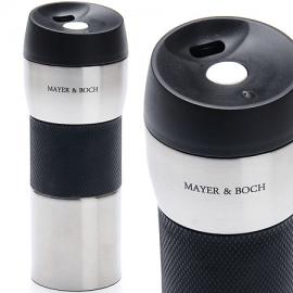 Картинка Термокружка Mayer&Boch 450мл нерж черная 24ч
