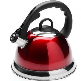 Картинка Чайник мет Mayer&Boch 2,8 л со свистком красный