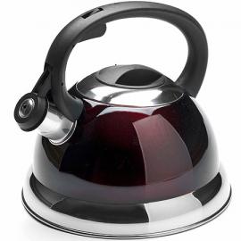 Картинка Чайник мет Mayer&Boch 2,8 л со свистком бордовый