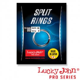 Картинка Кольца заводные LJ Pro Series SPLIT RINGS 04.4мм/04.6кг 10шт.
