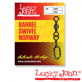 Картинка Вертлюги c застежкой LJ BARREL AND NORWAY 006 7шт.