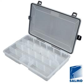 Картинка Коробка рыболовная водонепроницаемая Salmo WATERPROOF 360x230x52мм