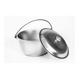 Картинка Котел литой алюминий с крышкой 6л