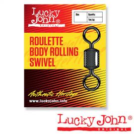 Картинка Вертлюги Lucky John ROULETTE BODY ROLLING 002 10шт.