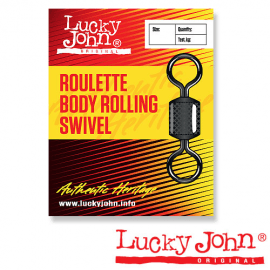 Картинка Вертлюги Lucky John ROULETTE BODY ROLLING K003/0 5шт.