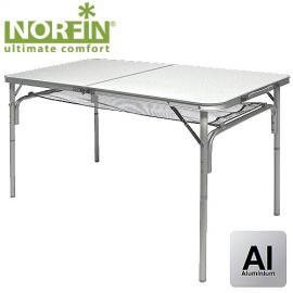 Картинка Стол складной Norfin GAULA-L NF Alu 120x60