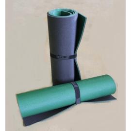 Картинка Коврик туристический двухслойный темно-зеленый антрацит 1800х600х8мм