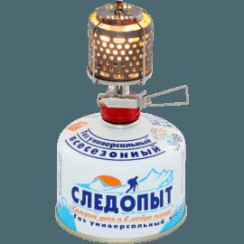 Картинка Светильник портативный газовый Следопыт ЗВЕЗДОЧКА металл