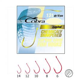 Картинка Крючки Cobra CAPITAL серия 131R размер 014 10шт.
