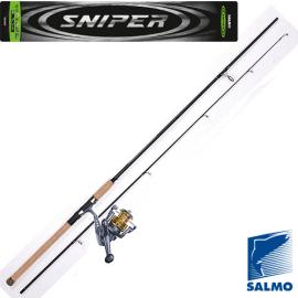 Картинка Спиннинг-комплект Salmo Sniper SPIN SET 2.10