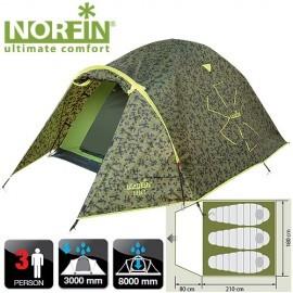 Картинка Палатка 3-х местная Norfin ZIEGE 3 NC