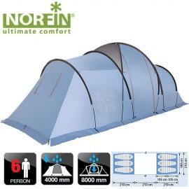 Картинка Палатка кемпинговая 6-ти местная Norfin MOSS 6 NFL