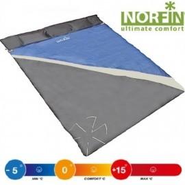 Картинка Мешок-одеяло спальный Norfin SCANDIC COMFORT  DOUBLE 300 NFL