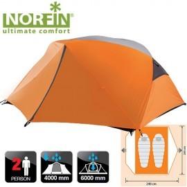 Картинка Палатка 2-х местная Norfin BEGNA 2 NS