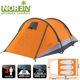 Картинка Палатка 3-х местная Norfin GLAN 3 NS