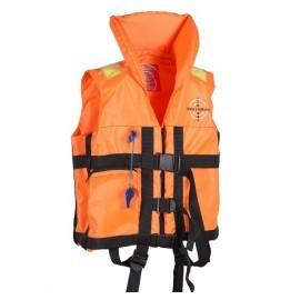 Картинка Жилет спасательный детский с воротником DOLPHIN до 50кг р.40-44 оранжевый