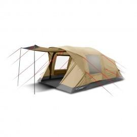 Картинка Палатка Trimm Family Texas, 4+2 песочная, синяя