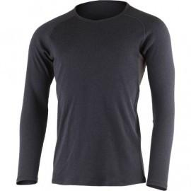 Картинка Футболка мужская Lasting BERT 5988, длинный рукав, шерсть 260, темно-серый