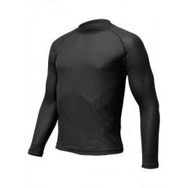 Картинка Футболка мужская Lasting MTD, длинный рукав, синтетика, черная