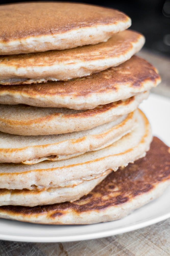 No Butter Homemade Pancakes How To Make Pancakes From Scratch