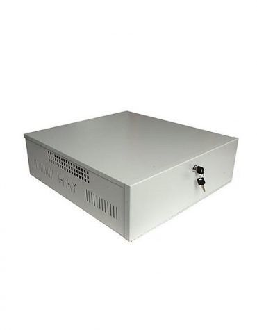 """Haydon Extra Large 20"""" Lockbox for DVR and NVR Security Built in Fan"""