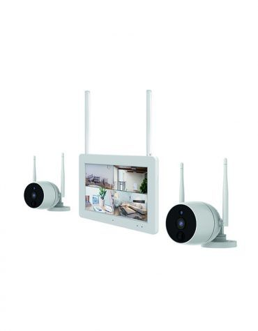 """Express One 2 Camera Wireless Camers Kit with 7"""" Touch Screen"""