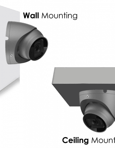 4K Turret Camera Mouting Instructions
